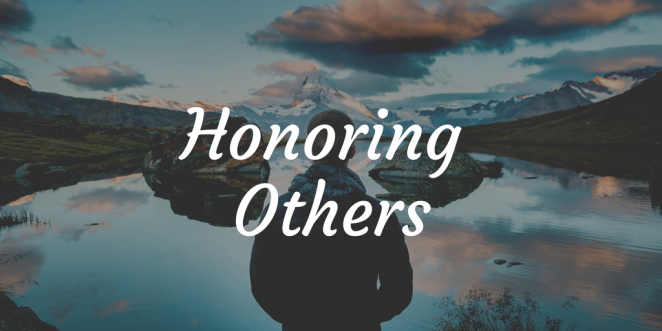 Honoring Others